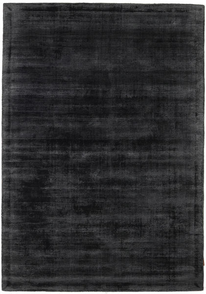 Tribeca - Charcoal Rug 140X200 Modern Black/Dark Grey ( India)