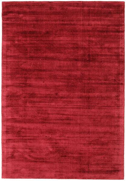 Tribeca - Dark Red Rug 160X230 Modern Crimson Red ( India)