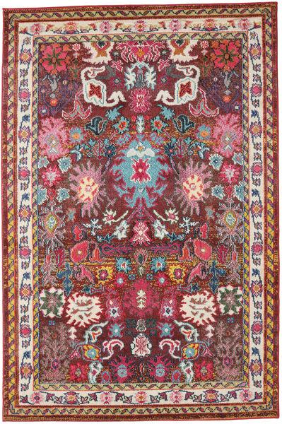 Mirzam - Dark Purple Rug 160X230 Modern Dark Red/Dark Brown ( Turkey)