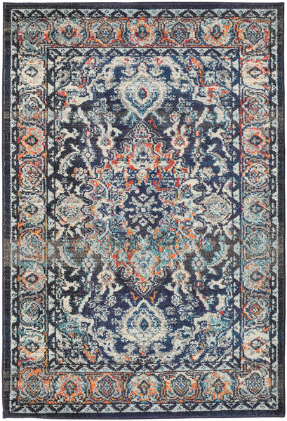 Elnath Rug 120X170 Modern Black/Light Grey ( Turkey)