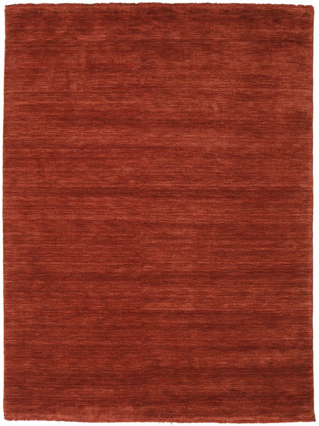 Handloom Fringes - Deep Rust Rug 160X230 Modern Rust Red/Dark Red (Wool, India)