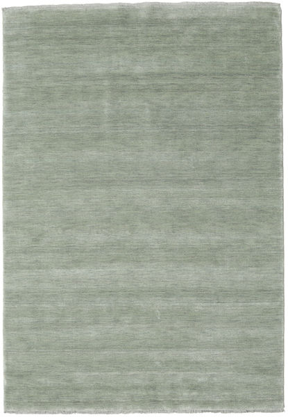 Handloom Fringes - Soft Teal Rug 160X230 Modern Light Green (Wool, India)