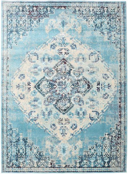Turid - Blue Rug 160X230 Modern Light Blue/White/Creme ( Turkey)