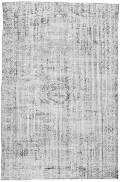Colored Vintage Rug 174X265 Authentic  Modern Handknotted Light Grey/White/Creme (Wool, Turkey)