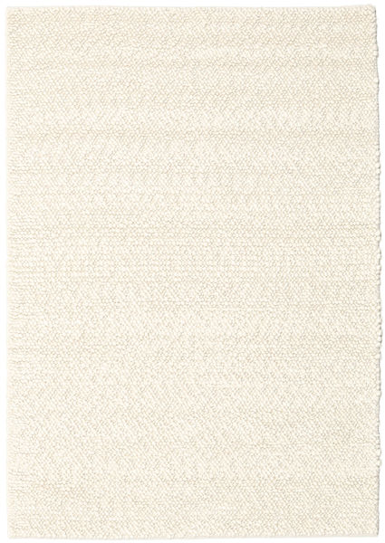 Bubbles - Natural White Rug 170X240 Modern Beige (Wool, India)