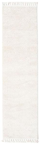 Taj - Cream Rug 80X300 Modern Hallway Runner  Beige/White/Creme ( Turkey)