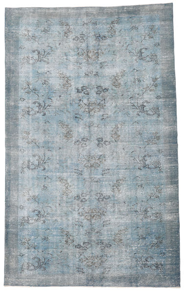 Colored Vintage Rug 177X296 Authentic  Modern Handknotted Light Blue/Light Grey (Wool, Turkey)
