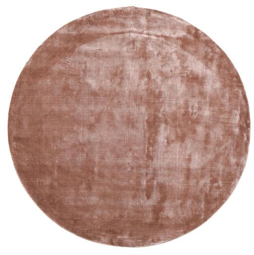 Broadway - Dusty Rose Rug Ø 200 Modern Round Dark Red/Light Pink/Light Brown ( India)