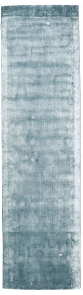 Broadway - Ice Blue Rug 80X300 Modern Hallway Runner  Light Blue ( India)