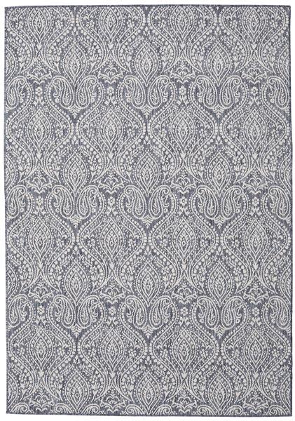 Palace - Dark Blue/Beige Rug 120X180 Modern Light Grey/Dark Grey ( Turkey)