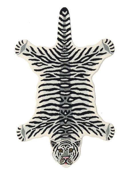 Tiger - White Rug 100X160 Modern Black/Beige (Wool, India)