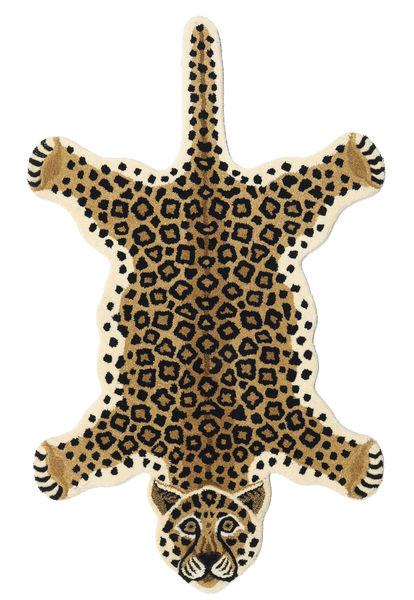 Leopard - Beige Rug 100X160 Modern Beige/Black (Wool, India)