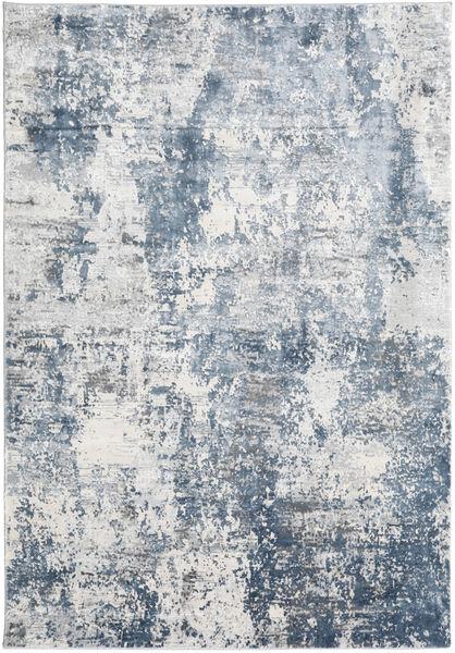 Triad - Grey/Blue Rug 160X230 Modern White/Creme/Light Grey/Light Blue ( Turkey)