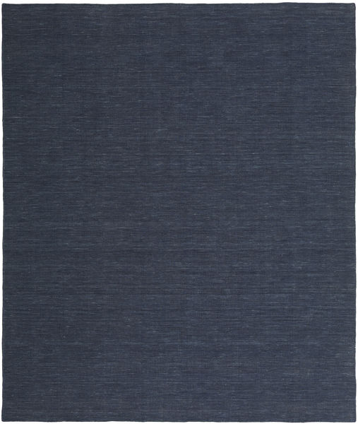 Kilim Loom - Denim Blue Rug 250X300 Authentic  Modern Handwoven Dark Blue/Blue Large (Wool, India)