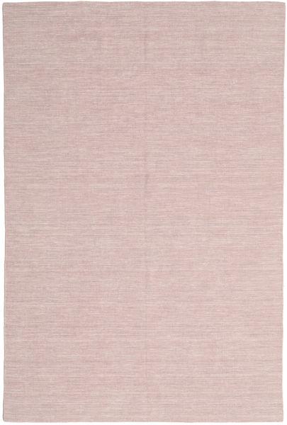 Kilim Loom - Misty Pink Rug 250X350 Authentic  Modern Handwoven Light Pink/Light Purple Large (Wool, India)