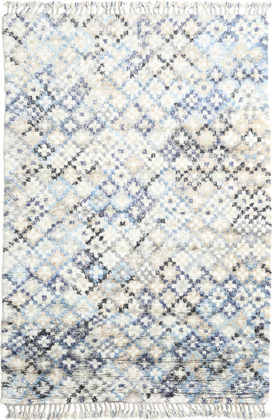 Greta Rug 200X300 Authentic  Modern Handknotted White/Creme/Beige (Wool, India)