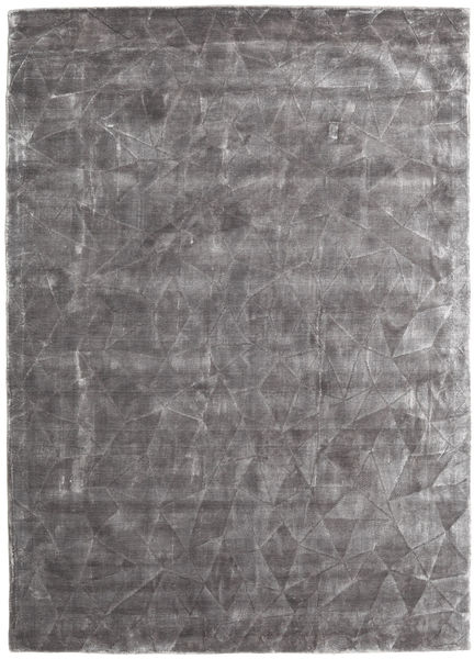 Crystal - Soft Grey Rug 140X200 Modern Light Grey/Dark Brown ( India)