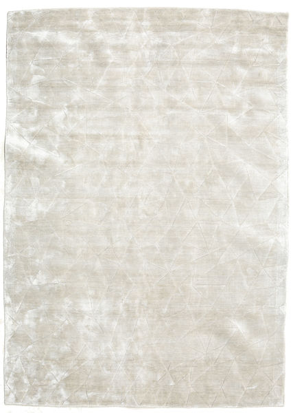 Crystal - Silver White Rug 140X200 Modern Light Grey/Dark Beige ( India)