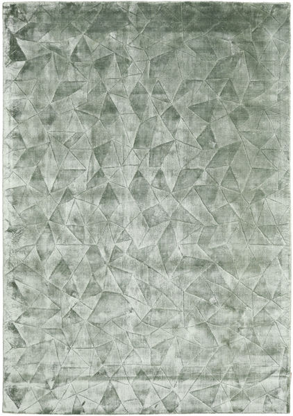 Crystal - Frosty Green Rug 160X230 Modern Light Green/Turquoise Blue ( India)