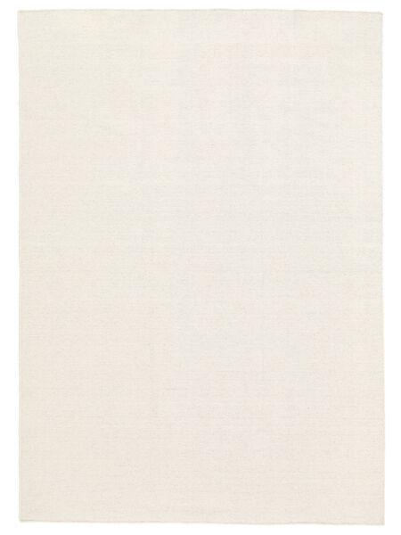 Kilim Loom - Off White Rug 300X400 Authentic  Modern Handwoven Beige/Dark Beige Large (Wool, India)