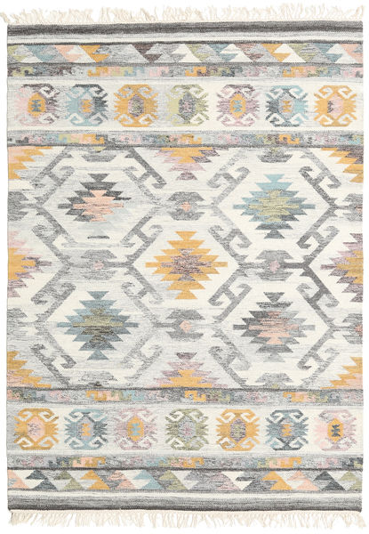 Mirza Rug 160X230 Authentic  Modern Handwoven Light Grey/Beige (Wool, India)
