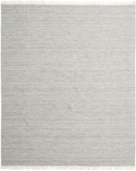 Melange - Grey Rug 250X300 Authentic  Modern Handwoven Light Grey Large (Wool, India)