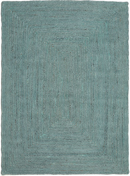 Outdoor Rug Frida Color - Turquoise Rug 140X200 Authentic  Modern Handwoven Turquoise Blue/Turquoise Blue (Jute Rug India)