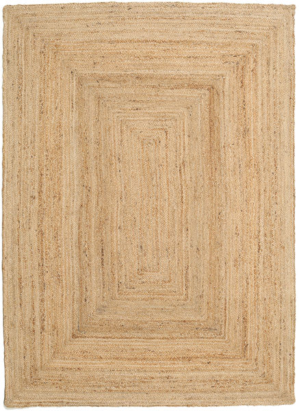 Frida - Natural Rug 140X200 Authentic  Modern Handwoven Dark Beige/Beige ( India)