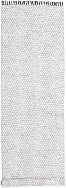 Comfort - Grey Rug 70X350 Modern Hallway Runner  Light Grey/White/Creme ( Sweden)