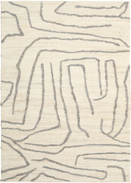Native Rug 250X350 Authentic  Modern Handwoven Beige/Light Grey Large ( India)