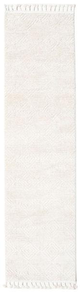 Taj - Cream Rug 80X400 Modern Hallway Runner  Beige/White/Creme ( Turkey)