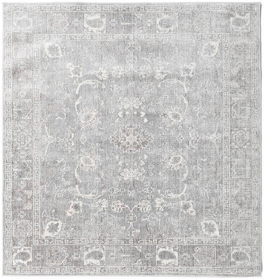 Maharani - Grey Rug 150X150 Modern Square Light Grey ( Turkey)