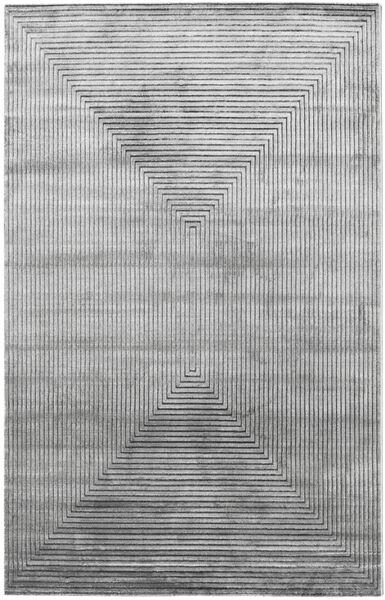 Illusion - Grey Rug 200X300 Modern Light Grey/Dark Grey ( Turkey)