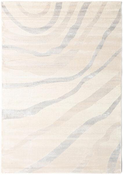 Wavy - Beige/Grey Rug 160X230 Modern Beige/Light Grey ( Turkey)
