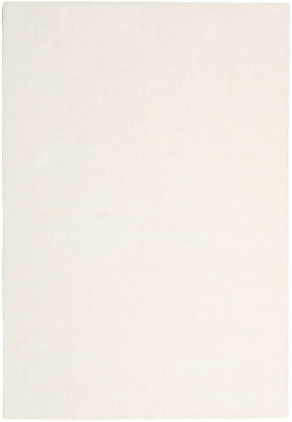 Kilim Loom - Off White Rug 250X350 Authentic  Modern Handwoven Beige/White/Creme Large (Wool, India)