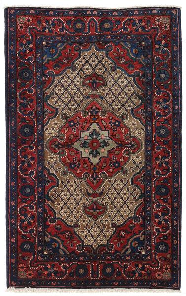 Koliai Rug 100X161 Authentic  Oriental Handknotted Dark Purple/Dark Red (Wool, Persia/Iran)