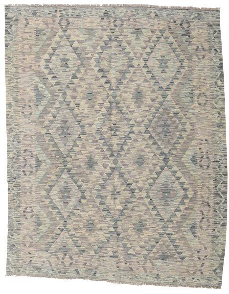 Kilim Afghan Old Style Rug 154X194 Authentic  Oriental Handwoven Light Grey (Wool, Afghanistan)