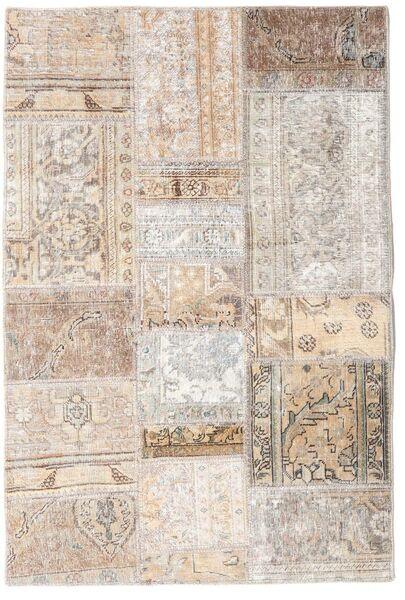Patchwork - Persien/Iran Rug 105X156 Authentic  Modern Handknotted Light Grey/Beige (Wool, Persia/Iran)