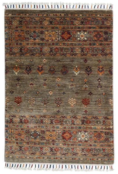 Shabargan Rug 86X123 Authentic  Modern Handknotted Brown/Dark Brown (Wool, Afghanistan)