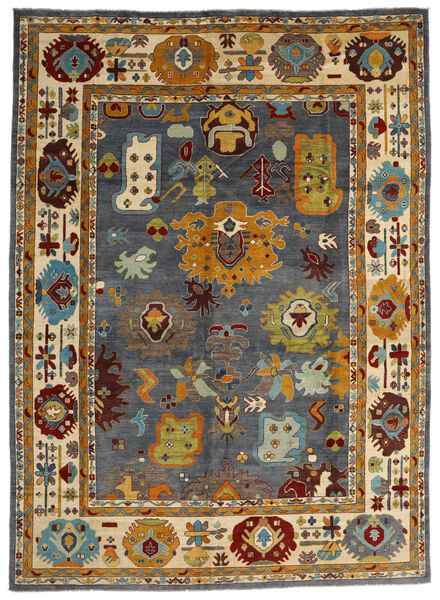 Kazak Rug 303X419 Authentic  Oriental Handknotted Brown/Black Large (Wool, Afghanistan)
