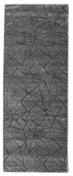 Patio - Grey Rug 100X250 Modern Hallway Runner  Light Grey/Dark Grey ( Turkey)