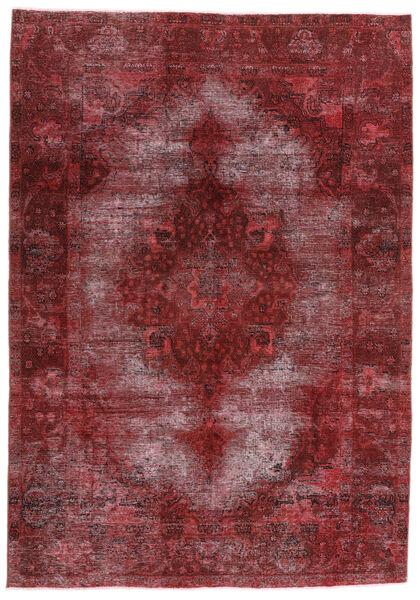 Vintage Heritage Rug 198X284 Authentic  Modern Handknotted Dark Red/Purple (Wool, Persia/Iran)