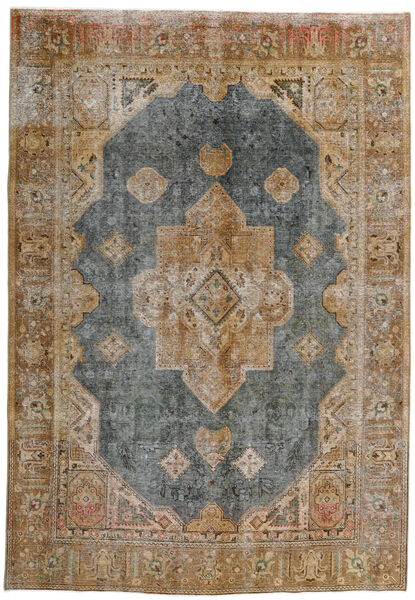 Vintage Heritage Rug 228X329 Authentic  Modern Handknotted Light Grey/Light Brown (Wool, Persia/Iran)