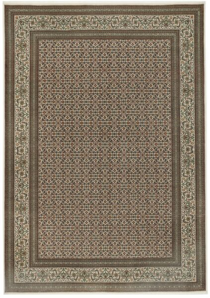 Tabriz 50 Raj Rug 255X365 Authentic  Oriental Handknotted Light Grey/Light Brown Large (Wool/Silk, Persia/Iran)
