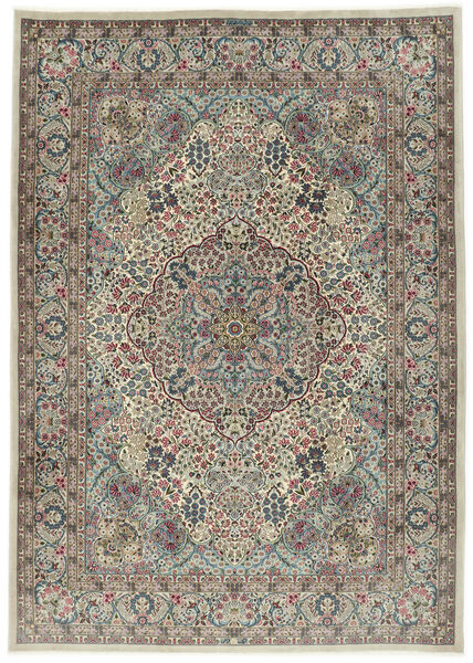 Kerman Sherkat Farsh Rug 250X350 Authentic  Oriental Handknotted Light Grey/Dark Grey Large (Wool/Silk, Persia/Iran)