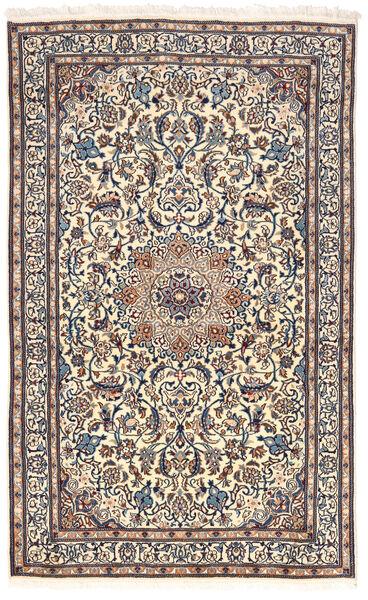 Nain Rug 155X255 Authentic  Oriental Handknotted Light Grey/Dark Grey (Wool, Persia/Iran)