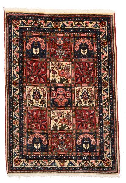 Bakhtiari Collectible Rug 105X148 Authentic  Oriental Handknotted Black/Dark Brown (Wool, Persia/Iran)
