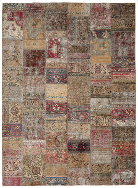 Patchwork - Persien/Iran Rug 297X405 Authentic  Modern Handknotted Light Grey/Brown Large (Wool, Persia/Iran)