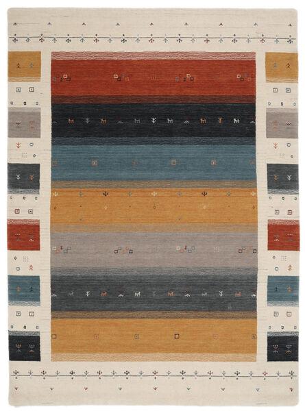 Loribaf Loom Designer - Multi Rug 210X290 Modern Black/Light Grey (Wool, India)