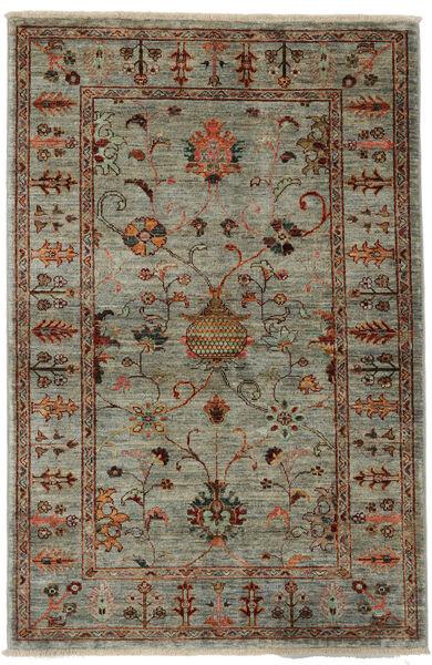 Ziegler Ariana Rug 104X158 Authentic  Oriental Handknotted Dark Green/Dark Brown (Wool, Afghanistan)